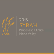 2015 Syrah, 'Phoenix Ranch', Napa Valley Magnum